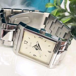 "Silpada BOYFRIEND Watch T1650 Stainless 7"""
